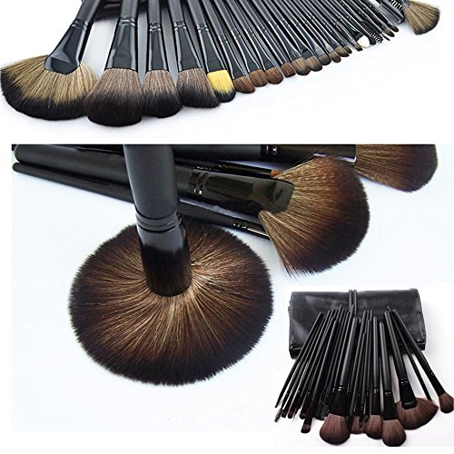 Spritech (TM) professionale per trucco, a 4 colori, connessione Crema-Paletta per la casa e per Studio fotografico, Nero