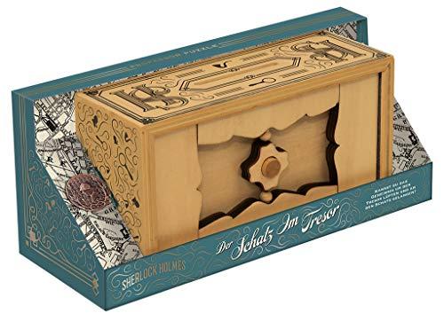 moses. 92108 Sherlock Holmes - Die Schatzkammer | Professor Puzzle Knobelspiel aus Holz | Geduldspiel, bunt