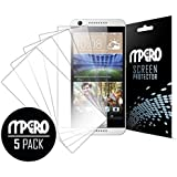 HTC Desire 626 Screen Protector Cover, Ultra Clear 5-Pack - MPERO