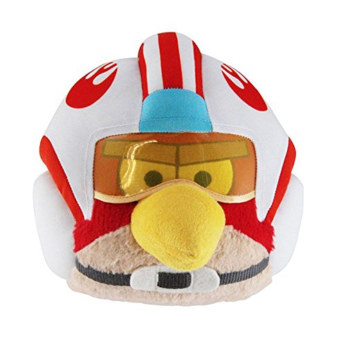 "Angry Birds - Star Wars - Luke Skywalker (X-Wing helmet) Plush -  20cm 8"""