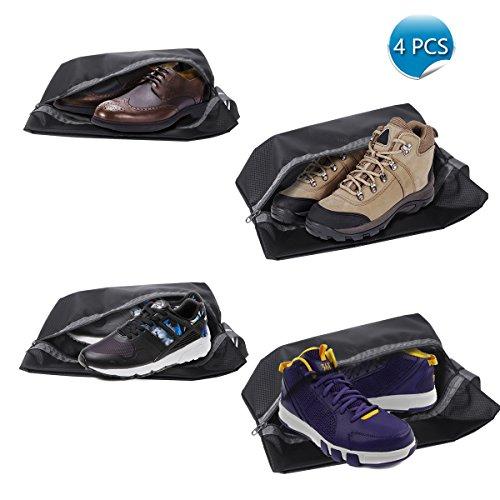 Schuhtasche 4 Stück /Organizer-Taschen Shoe Bag wasserundurchlässig mit Reißverschluss/ ideal für Reisen...