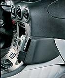 KUDA 080050 Negro - Soporte (Teléfono móvil/smartphone, Coche, Negro, Cuero, Alfa Romeo 166 (10/98))