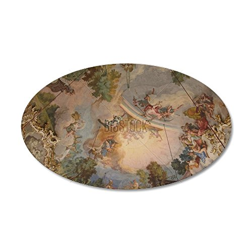 cafepress-ceiling-palace-in-munich-35x21-oval-wall-decal-vinyl-wall-peel-reusable-wall-cling