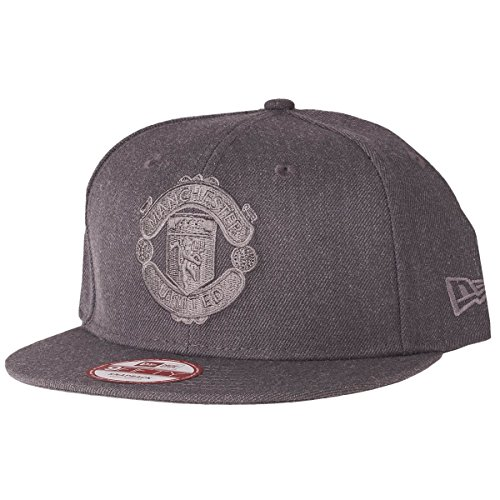 Manchester United 9Fifty Graphite - Casquette de Foot Joueurs Anthracite