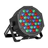 ENKEEO 36 LED Projecteur Lumière de Scène Commande Sonore...