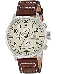 Tommy Hilfiger Analog Yellow Dial Men's Watch - NATH1790684J