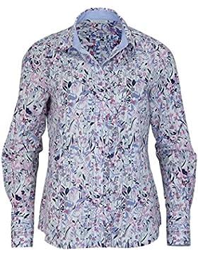 ETERNA Langarm Bluse COMFORT FIT bedruckt