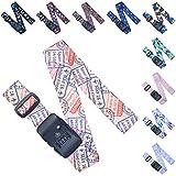 Sangle Bagage TSA - Ajustables - Sangle Valise Voyage - Ceinture Valise - Combinaison TSA - Accessoires Voyage Valise