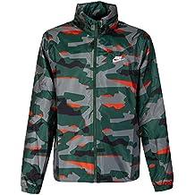 ec92d9c07a4c Nike Veste Coupe-Vent pour Homme Motif Camouflage XXL