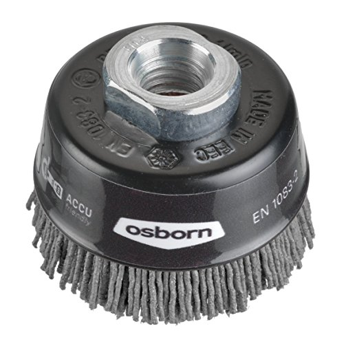 Osborn 6802613891 NEUHEIT Topfbürste für Akku-Winkelschleifer 115 mm