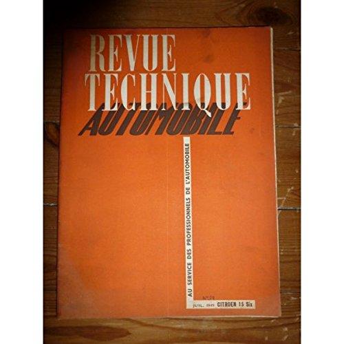 Rta-revue Techniques Automobiles - 15 Six Revue Technique Citroen