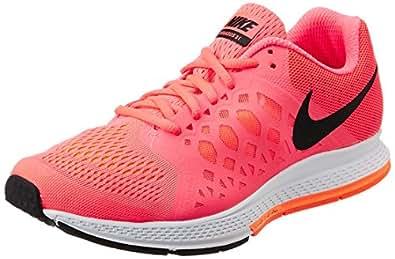 Nike Women's Air Zoom Pegasus 31 Hyper Punch,Black,Total Orange  Running Shoes - 7 UK/India (41 EU)(8 US)