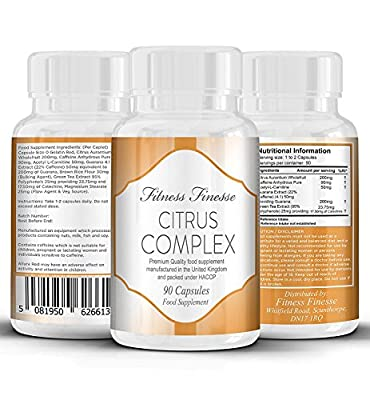 Fat Burning Capsules Citrus Complex Fat Burner lose weight and burn fat 90 capsules