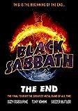 Generic Black Sabbath The End 2016 World Tour Foto Poster Ozzy Osbourne Bluse 005 (A5-A4-A3) - A4