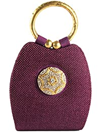 SAISHA Women's Handbag (Purple-sl0090)