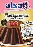 Alsa Flan Entremets Très Chocolat 232 g - Lot de 4