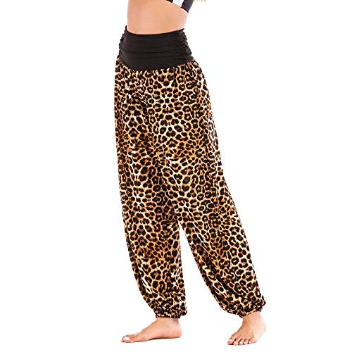 Shujin Damen Sommer Baumwolle Pumphose Lang Elegant Pumphose Baggy Harem Stil Casual Yogahose Weiche Langehose Pilates Hosen