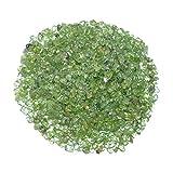 100 Gramm Peridot / Olivin kleine Trommelsteine / Wassersteine ca. 3-5 mm A* Qualität schöne klare grüne Farbe (4855)