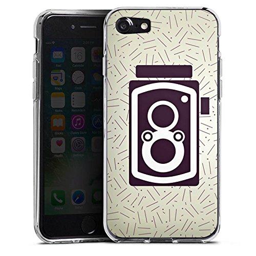 Apple iPhone X Silikon Hülle Case Schutzhülle Vintage Fotografie Kamera Silikon Case transparent