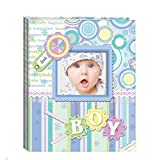 """Album De Fotos""""Diver Baby Photo"""" Azul en Caja de Regalo - Albumes de Fotos Originales y Baratos para Niños Azules. Recuerdos para Bautizos Bebés"""