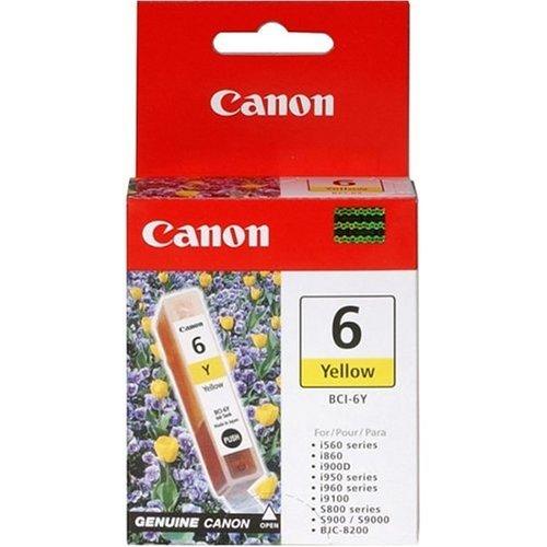 Preisvergleich Produktbild Canon Pixma IP 6000 D (BCI-6 Y / 4708 A 002) - original - Tintenpatrone gelb - 210 Seiten - 13ml