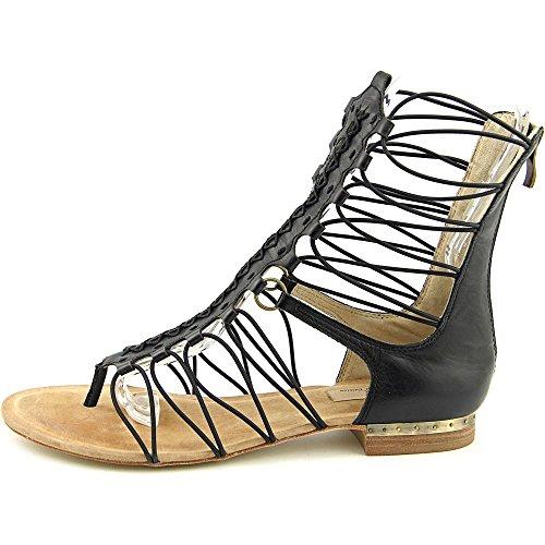 Mia Limited Edition Czar Femmes Cuir Sandales Gladiateur BLK Black