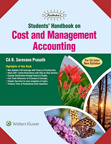 Students Handbook on Cost and Management Accounting: For CA Intermediate New Syllabus