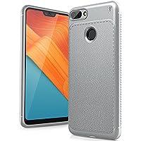 Huawei Honor 10 Lite 2018 Funda, FindaGift TPU Suave Ultra Delgado [Inastillable][A prueba de choques][Protección completa] Bumper A prueba de huellas Back Cover con base antideslizante para Honor 10 Lite 2018 (Gris)