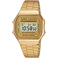 Casio Collection Retro, Unisex, Polshorloge A168WG-9EF, Goud