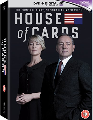 House of Cards: Season 1-3 (24 DVDs) [UK-Import]