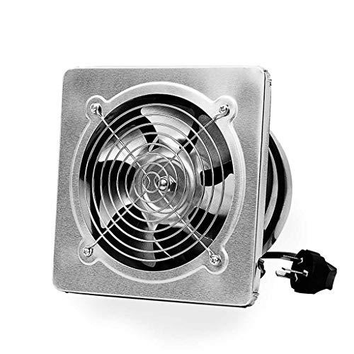 Ventilator Edelstahl Oberfläche High-Speed-Abluftventilator Küchenabzug starken Abluftventilator (Size : 190 * 190mm) -