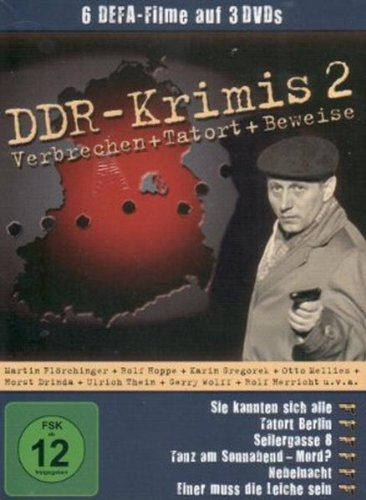 DDR-Krimis 2 - ( 6 Filme - 3 DVDs / Sie kannten sich alle - Tatort Berlin - Seilergasse 8 - Tanz am Sonnaben... Mord ? - Nebeln