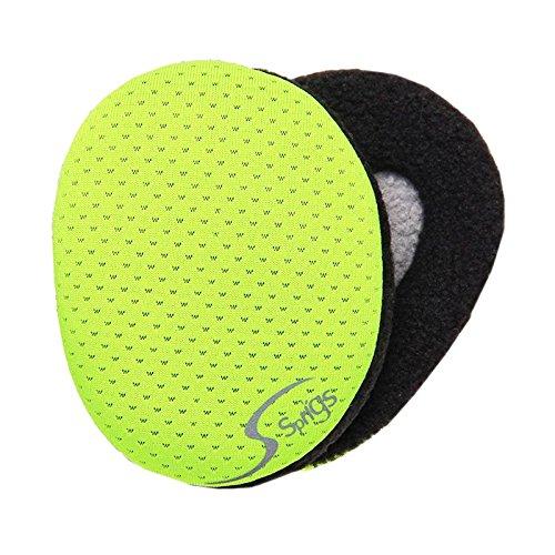 Earbags Standard Ohrenwärmer Ohrenschützer Mütze Stirnband Warme Ohren Original Fleece, Fleece, Farbe mesh gelb, Größe M