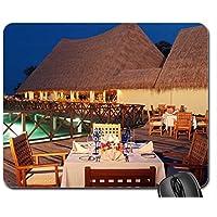 Lusso all' aperto da pranzo Resort mouse pad, Mousepad (Beaches mouse pad) - Mouse Pranzo