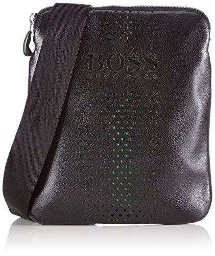 BOSS Green Mixton 10185409 01 50298854 Herren Umhängetaschen 20x24x1 cm (B x H x T), Schwarz (black 001 001)