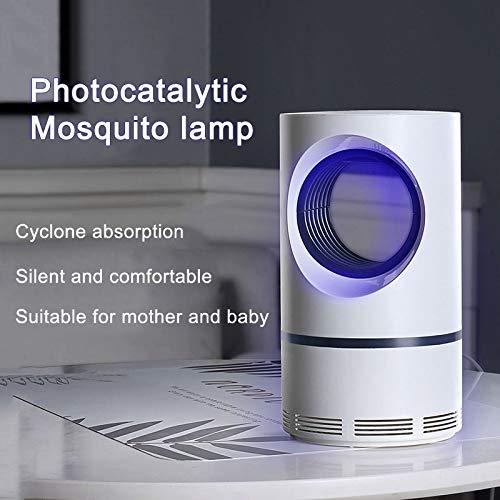 Indoor Mosquito (Alexsix Mosquito Killer Lampe Light Sense Kontrolle Nicht toxisch 5W UV Mosquito Trap Quiet und leistungsstarke Motor Profi für Indoor-Einsatz)
