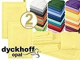 Frottiertücher der Serie Opal - erhältlich in 33 modernen Farben und 7 verschiedenen Größen -Markenqualität von Dyckhoff, 1 Pack (3 Stück) - Seiftücher [30 x 30 cm], schwarz