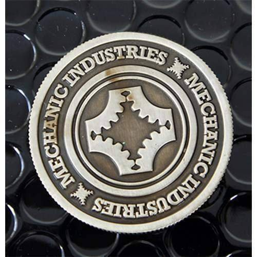 Solomagia half dollar coin (gun metal grey) by mechanic industries - magia con monete - giochi di magia e prestigio