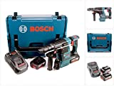 Bosch GBH 18 V-26 F Akku Bohrhammer Professional SDS-Plus in L-Boxx mit 2 x GBA 5 Ah Akku und GAL 1880 CV Ladegerät