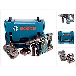 Bosch GBH 18V-26 F Akku Bohrhammer 18V 2,6J brushless SDS plus + 2x Akku 5,0Ah + Schnellladegerät + L-Boxx