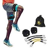 DAS Leben Fitnessbänder Set Beintrainer Sprungtrainer für Sprung Springenübung Basketball Fußball Tennis Training