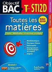 Objectif Bac Toutes Les Matieres Term Sti2D