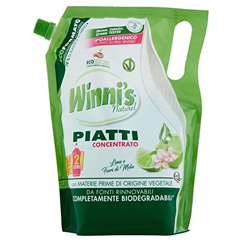 Scopri offerta per Winni's Naturel Detergente Piatti Concentrato Ecoricarica Lime - 1050 g