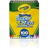 CRAYOLA Super Tipps waschbar Marker, bunt, 17.78x 14,73X 8.63cm