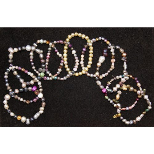 gifts-and-guidance-fresh-water-pearl-bracelet-jewellery-set-x10-bracelets-rainbow-colours