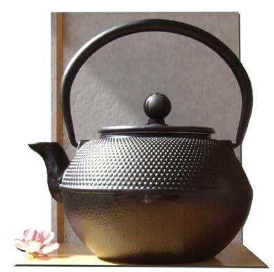 Théière en fonte style japonais Noir 1,2 l
