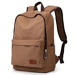51AdUwKcyhL. SS300  - CKH Trend Mochilas Bolsas de viaje casual para hombres Mochilas de lona Bolsas universitarias para colegios…