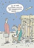 Postkarte A6 • 8153 ''Jugendamt'' von Inkognito • Künstler: Til Mette • Cartoons • Weihnachten