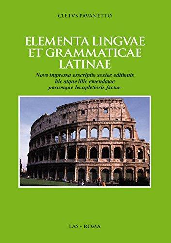Elementa linguae et grammaticae latinae