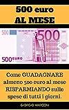 500 EURO AL MESE: Come Guadagnare almeno 500 euro al mese RISPARMIANDO sulle spese di tutti i giorni